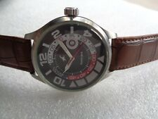 RARE BIG FACE TITAN FASTRACK INDIA DATE SS 5ATM QUARTZ WRISTWATCH