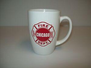 Chicago Fire Department Bistro Coffee Mug 12oz.