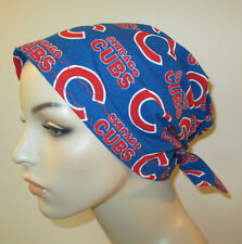 Chicago Cubs Chemo Hat Scrub  Cap Pediatric Nurses Hat