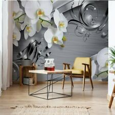 Tapete Fototapete Vlies Luxus-Schmuckdesign Orchideen
