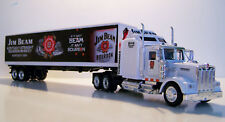 KENWORTH W900 Semi Truck Diecast 1:43 Scale Jim Beam (BLK) Custom Graphics