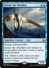 KEFNET THE MINDFUL Amonkhet MTG Blue Creature — God Mythic Rare