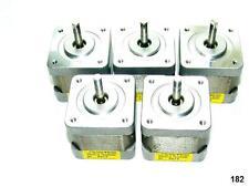5 Nema 17 Japan Servo Stepper Motors 51.2oz/in Mill Robot RepRap Makerbot Prusa
