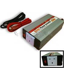 Boat Car Battery 800W Continuous 12v power Inverter mains 230V Travel Charger