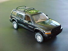 2001 DODGE DURANGO BLACK BY ANSON VERY OLD RELEASE 1:18 BRAND NEW IN BOX