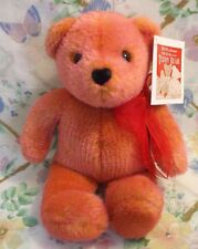 "Avon Plush Talking 12"" Teddy Bear 100th Aniversary Mwt Great For Valentine's Day"