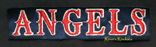 Angels Major League Baseball Strip Patch Los Angeles Anaheim California