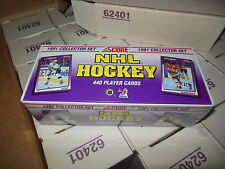 1991 SCORE NHL HOCKEY FACTORY SET 440 CARDS FROM CASE