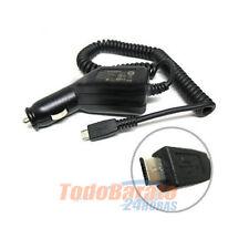 CARGADOR MECHERO COCHE PARA LG OPTIMUS L3 L5 L7 L9 HUB SOL BLACK 3D MICRO USB