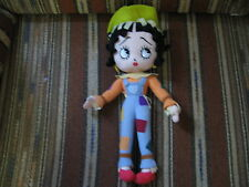 """16"""" plush Betty Boop doll dressed as a cow girl, by Sugar Loaf, good condition"""