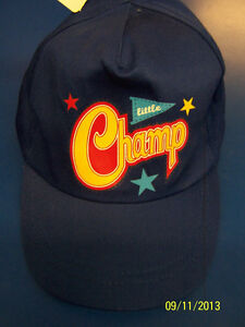 Little Champs All Star Sports Athlete Kids Birthday Party Favor Hat Baseball Cap