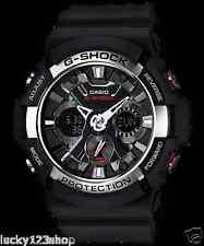 GA-200-1A Black Original Casio Men Watch G-Shock 200m Analog Digital Resin Band