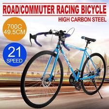 Bici Da Corsa 700C 49.5cm Shimano Viaggi Fuori Strada CONCESSIONAL SALE GREAT