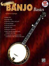 Bluegrass Banjo Basics Dennis Caplinger Learn How to Play 5-String TAB Book & CD