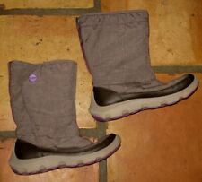 CROCS ESPRESSO DUET BUSY DAY SNOW BOOTS SHOES WOMENS SIZE 6