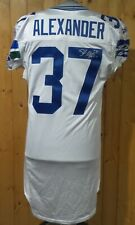 SHAUN ALEXANDER SEAHAWKS #37 AUTOGRAPHED GAME ISSUED JERSEY WITH CERTIFICATION
