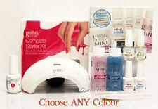 GELISH HARMONY COMPLETE STARTER KIT >LED Light + MINI Basic + 1 Color UV Gel Set