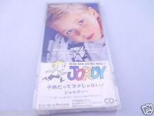 """RARE JORDY DUR DUR D'ETRE BEBE! Japan 3"""" CD Snap pack Single in Plastic Case"""