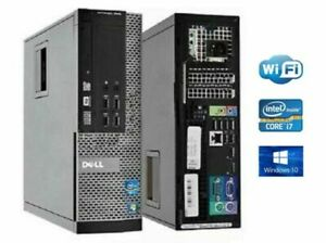 Dell Optiplex 7020 SFF i7-4770 3.40GHz 8GB RAM 240GB SSD DVD-RW WIFI WIN10