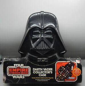 1980 vintage Kenner STAR WARS Darth Vader action figure collector case w/ insert