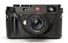 Artisan & Artist lmb-m10 Black Noir Half Case Protecteur Pour Leica m10