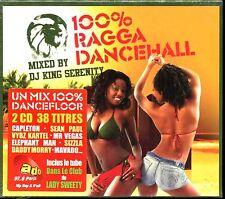 100% RAGGA DANCEHALL - MIXED NON STOP - 2 CD COMPILATION NEUF ET SOUS CELLO