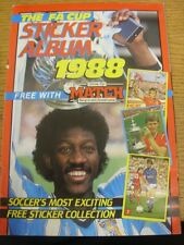 1988 FA Cup: Sticker Album - Free With the Match Magazine, Unsued, 51 Stickers L