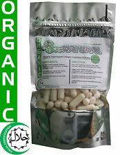 Organic Halal Collagen Hydrolyzed (Freshwater Fish Collagen) 100 Capsules 1000mg