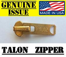 US MILITARY TALON #10 BRASS ZIPPER SLIDER HEAD M65 M51 JACKET REPAIR PARKA USGI