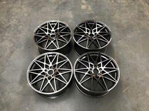 "18"" 666M Competition Style Alloy Wheels Gun Metal Machined F20 F21 F22 F23 BMW"