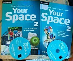YOUR SPACE VOL.2 con 2 Cd (IN 2 VOLUMI) - M.HOBBS J.STARR KEDDLE - CAMBRIDGE