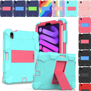 For iPad Mini 6 6th Generation 8.3 Kids Friendly Shockproof Case Cover Armor