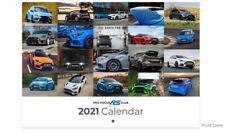 2021 Mk3 Ford Focus RS Wall Calendar