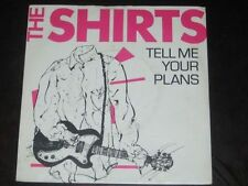 The Shirts rare '78 Dutch 45 Tell Me Your Plans in orig, PS  EX+  US power pop