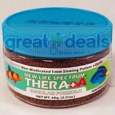 New Life Spectrum Thera+A Regular Formula 60g Natural Sinking 1mm Fish Pellets