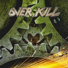 OVERKILL – THE GRINDING WHEEL (NEW/SEALED) CD 2017