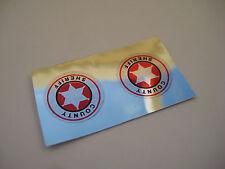 Corgi 237 - Oldsmobile Chrome Door Stickers - B2G1F