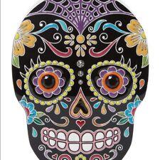 $1595 Charlotte Olympia Black Calavera Clutch Skull Bag Evening