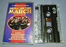 MUSIC ON THE MARCH cassette tape album T7384