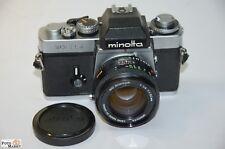 Minolta XE-5 mit MD Rokkor 1,4/50mm Spiegelreflexkamera 24x36mm Top