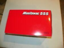 CCM Manitowoc 555 1:50 Scale Die Cast Model Lattice Boom Crane New In Box
