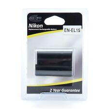 Inov8 EN-EL15 Lithium-Ion Rechargeable Battery Pack for Nikon Cameras.