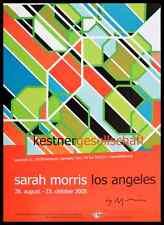 Sarah Morris Los Angeles Poster Kunstdruck Bild im Alu Rahmen 84x59 handsigniert