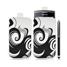 Housse coque étui pochette pour Samsung Wave 3 avec motif HF04 + stylet lux