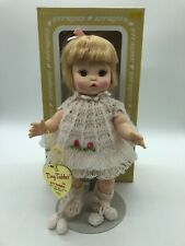 Effanbee Tiny Tubber Blonde Crochet Classic Eyes Open And Close 10 in Vinyl Doll