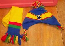 Build A Bear Babw Doll Clothes ~ Bear Hat & Scarf Set