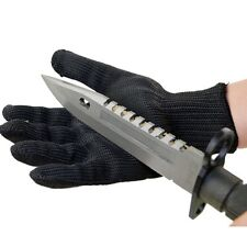 with Kevlar Gloves Cut-Resistant Army-Grade Safety Pair Work Heat Anti Abrasion