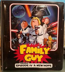 Inkworks Family Guy Star Wars Trading Card Binder Collectors 3 Ring Album