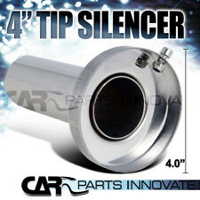 "Insert Removable Silencer For 4"" Tip Stainless Exhaust Muffler"
