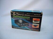 VTG Cobra Radar Detector Trap Shooter RD 3110 X & K Band Works